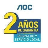 AOC - Certificado de Garantía para TV - Uruguay 2017