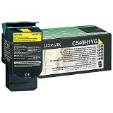 LEXMARK TONER YELLOW C540H1YG 2000 COPIAC540/543/544/X543/44
